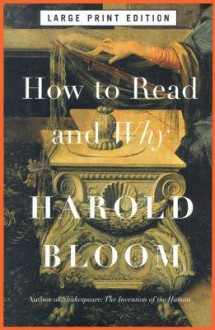 How To Read And Why Lp - Harold Bloom