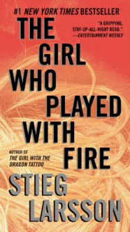 The Girl Who Played with Fire (Millennium Trilogy, Book 2) (Vintage Crime/Black Lizard) - Stieg Larsson
