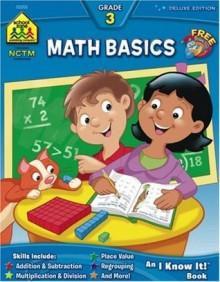 Workbooks-Math Basics Grade 3 - School Zone