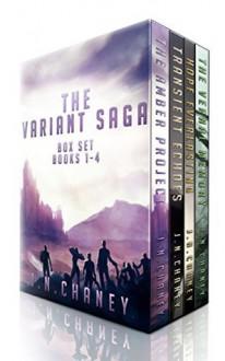The Variant Saga: A Dystopian Sci-fi Epic - JN Chaney