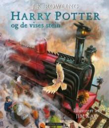 Harry Potter og De vises stein - J.K. Rowling, Jim Kay, Torstein Bugge Høverstad