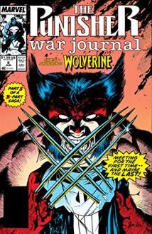 Punisher War Journal (1988-1995) #6 - Carl Potts,Carl Potts,Jim Lee