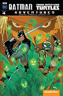Batman/Teenage Mutant Ninja Turtles Adventures #4 - Matthew Manning,Jon Sommariva