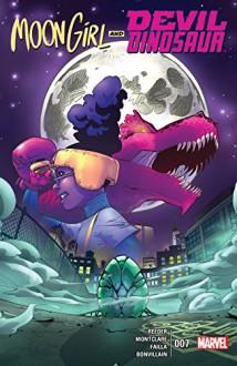 Moon Girl and Devil Dinosaur (2015-) #7 - Amy Reeder, Brandon Montclare, Amy Reeder, Marco Failla