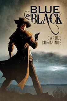 Blue on Black - Carole Cummings