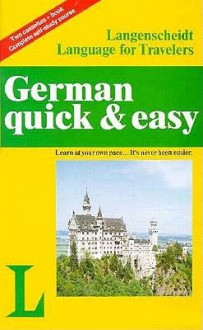 German Quick and Easy-2 Cassettes/Bk - Quick and Easy, Andrew Quick