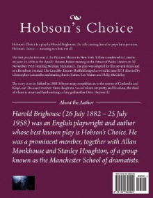 Hobson's Choice: A Lancashire Comedy in Four Acts - Harold Brighouse, Desmond Gahan