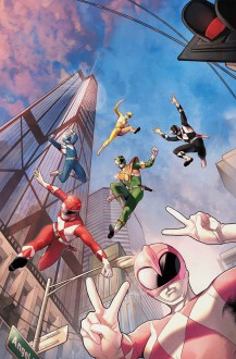 MIGHTY MORPHIN POWER RANGERS #18 Cover A Release Date 8/23/17 - Sonic Boom Studios Fach / Khromov GbR Alex Khromov,Sonic Boom Studios Fach / Khromov GbR Alex Khromov