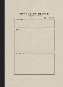 Office of Blame Accountability - Geoff Cunningham, Carla Repice