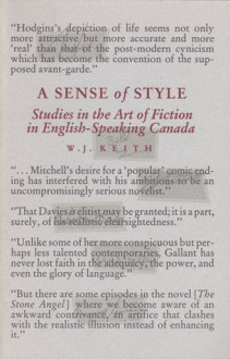 Sense Of Style - W. Keith