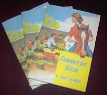 Summer for Seven (Dria Meredith Series) - Janet Lambert