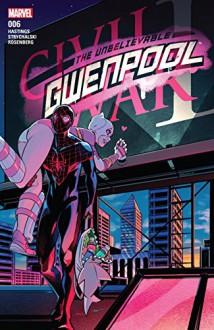 Gwenpool, The Unbelievable (2016-) #6 - Christopher Hastings, Gurihiru, Stacey Lee