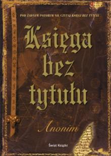 Księga bez tytułu - Anonim (pseud.)