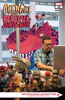 Moon Girl and Devil Dinosaur (2015-) #33 - Natacha Bustos,Brandon Montclare