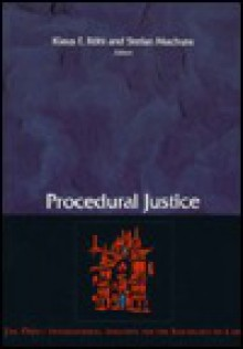 Procedural Justice - Klaus Rainer Röhl, Stefan Machura