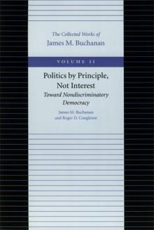 Politics as Public Choice - James M. Buchanan