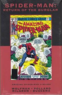 Spider-Man: Return of the Burglar (Marvel Premiere Classic Vol 97 DM Ed) - Marv Wolfman