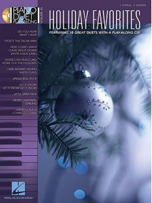 Holiday Favorites: Piano Duet Play-Along Volume 36 - Hal Leonard Publishing Company