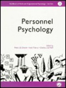 A Handbook of Work and Organizational Psychology: Volume 3: Personnel Psychology - P.J.D. Drenth