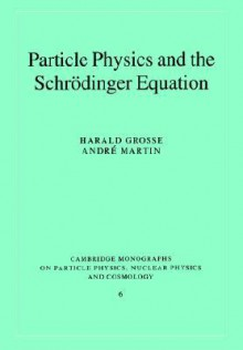 Particle Physics And The Schrödinger Equation - Harald Grosse, Andri Martin