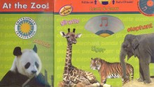 At the Zoo!: Panda/Giraffe/Tiger/Elephant [With CD] - Studio Mouse LLC
