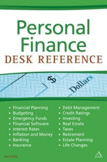 Personal Finance Desk Reference - Kenneth E. Little