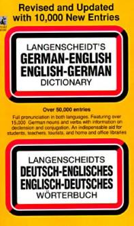 Langenscheidt's German-English English-German Dictionary - Langenscheidt, A.C. Pomahoba