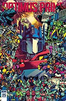 Optimus Prime #25 - John Barber