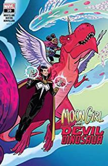 Moon Girl and Devil Dinosaur (2015-) #39 - Brandon Montclare,Natacha Bustos