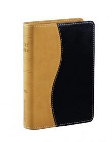 RVR60 Biblia de la vida victoriosa dos tonos negro/marron - Vida Publishers