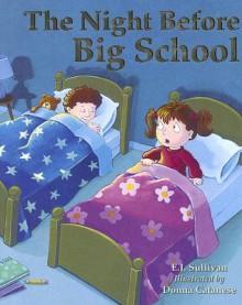 The Night Before Big School - E.J. Sullivan, Ellen Sullivan, Donna Cantanese