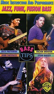 Bass Guitar Tips -- Jazz, Funk, Fusion Bass: Music Instruction and Performance, Video - Jaco Pastorius