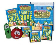 Veggie Tales Kids' Worship! Unit 1 Getting To Know God: For Children's Church Or Large Group Programming - Big Idea Inc.