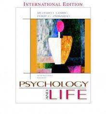 Psychology and Life - Richard J. Gerrig