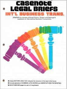 International Business Transactions - Norman S. Goldenberg, Peter Tenen, Varioius Authors