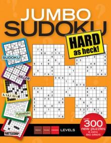 Jumbo Sudoku Hard as Heck - Sudoku