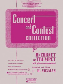Concert and Contest Collection for Trumpet - Book/CD Pack - H. Voxman