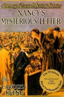 Nancy's Mysterious Letter - Walter Karig,Carolyn Keene