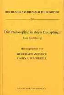 Die Philosophie In Ihren Disziplinen: Eine Einfuhrung - Burkhard Mojsisch
