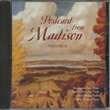 Postcard from Madison, Volume 2 - UW Sch of Music, UW Sch of Music Staff, UW Sch of Music