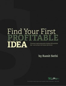 Find Your First Profitable Idea - Ramit Sethi