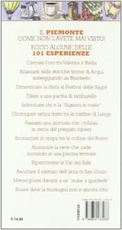 101 Cose Da Fare In Piemonte Almeno Una Volta Nella Vit - Scaparone