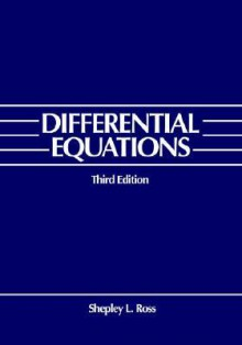 Differential Equations - Shepley L. Ross