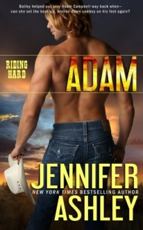 Adam (Riding Hard) (Volume 1) by Jennifer Ashley (2015-03-10) - Jennifer Ashley