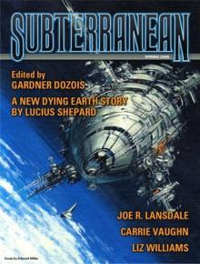 Subterranean Magazine Spring 2009 - Carrie Vaughn, Joe R. Lansdale, Paul J. McAuley, Liz Williams, Ken MacLeod, William Schafer, Ted Kosmatka, Lucius Shepard