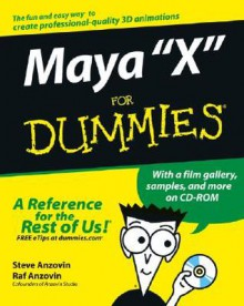 Maya X For Dummies - Steve Anzovin, Raf Anzovin