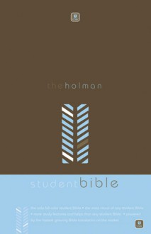 Holman CSB Student Bible, Brown/Blue - Holman Bible Staff