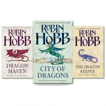 Robin Hobb The Rain Wild Chronicles Trilogy Collection 3 Books Set Pack (Titles in This Set Book 1: The Dragon Keeper Book 2: Dragon Haven Book 3: City of Dragons (Hardback)) - Robin Hobb