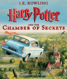 Harry Potter and the Chamber of Secrets: The Illustrated Edition - J.K. Rowling,Jim Kay