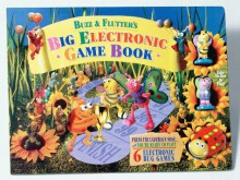 Buzz & Flutter's Big Electronic Game Book [With Removable Bug-Shaped Electronic Die W/Light & Soun and 3 Removable Vinyl Figures and 6 Qty W - Rowen Basilicato, Rowen Basilicato
